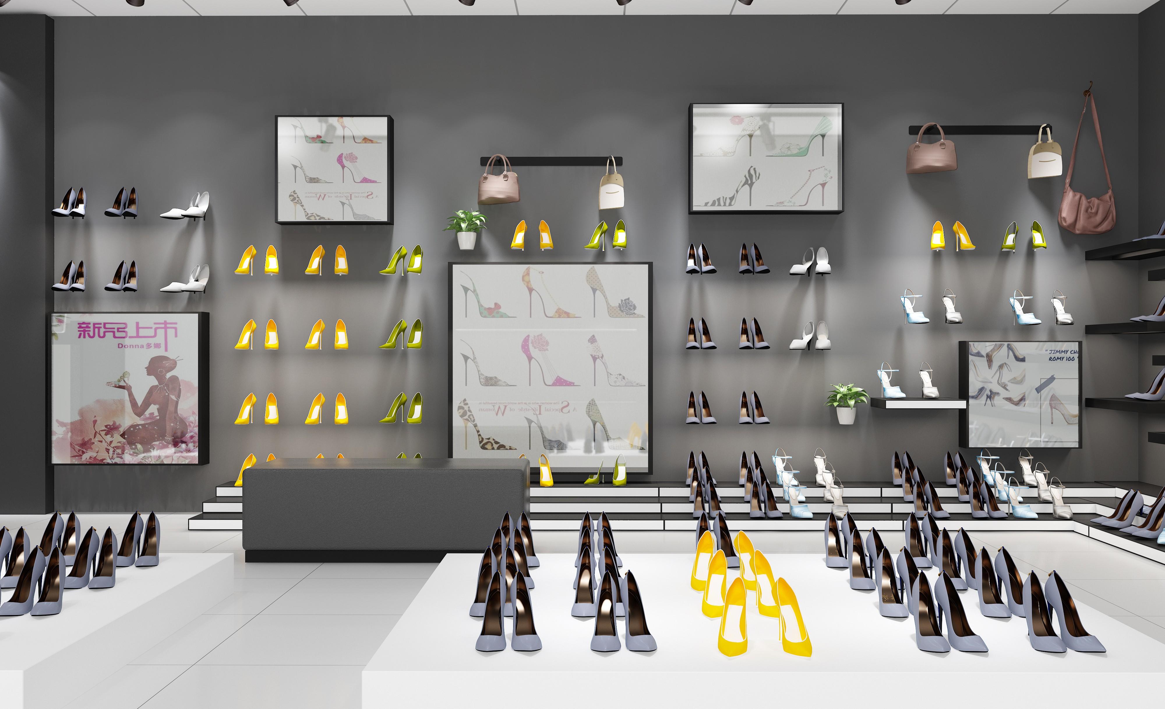 鞋子展示架